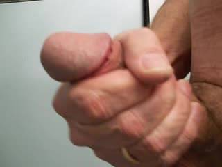 Six minute slow to fast stroking with multiple cum shots.