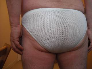 I\'m not bothered if my ass looks big in these briefs but I do hope all you ladies and guys out there who are enthusiastic male ass lovers like what you see