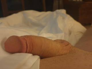 Morning and peeking out the sheets