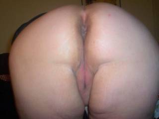 That is one big sexy ass, and you deserve to be fucked doggystyle with one hand on your ass, one pulling your hair, until you are cumming and I pull out and shoot my hot sperm all over your sexy ass!   ;-)