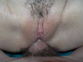 That pussy looks tight. I would love to lick that clit.
