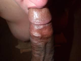 The Sub Whore/Wife of a Fan of Mine Servicing My Massive Black Cock