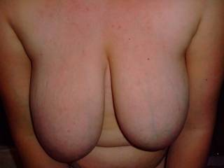 I could spend hours massaging your boobs...they look very squeezable! :)