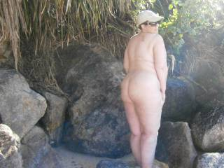 Hardly need to tell my Zoig friends, but I love getting naked outdoors then showing you the pics.