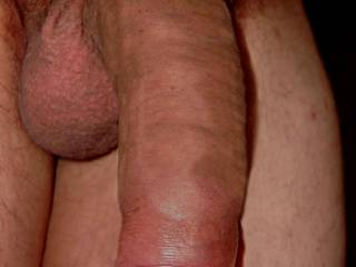 Very nice uncut cock. Love to feel it grow in my mouth