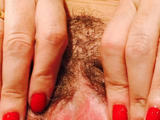I really wanted to take a break, My Bull was at me for an hour and had me well and truly fucked in all positions, made me cum many times, he is a Stallion, who would like to share my pussy?   Do you like hairy or shaved ?