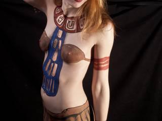 nude full-boy egyptian makeover!