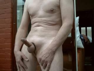 I hope you like me totally naked.