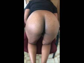 old video of before and after i used her hairy ebony pussy