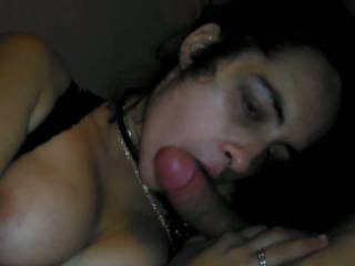 This girl just really like sucking my dick