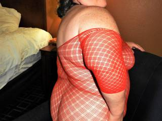 SEPTEMBER CHAIRFEST 1: You Know you Want to Take these Fishnets off Me to View My Bare Butt !
