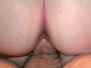 wife riding hubby's big dick