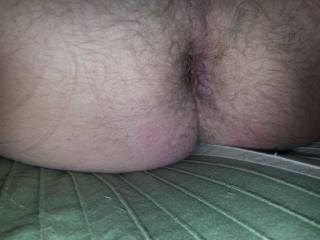 That is one hot hairy hole.  I would love to eat you out for hours