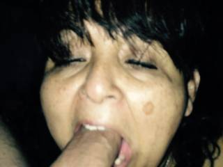 She\'s a great cock sucker, anybody interested in using this slut?