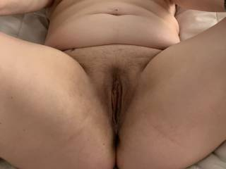 Ready and waiting for my pussy to be licked and fucked
