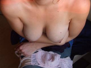 happy new year zoig!thanks for sexy comments and messages - i just love getting my tits out, heres to another year of it!!x