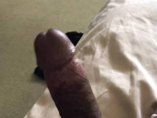 Watching the wife shower and started to stroke