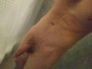 More shower dick.