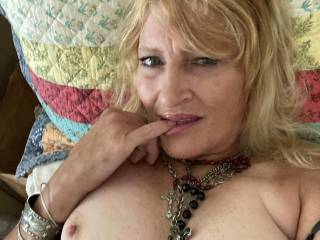 I have never in my life uploaded a sexy photo of myself, but not only was I feeling sexy, but horny too...