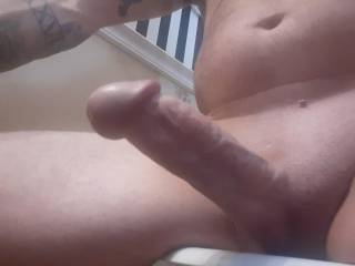 Hard cock smooth and ready