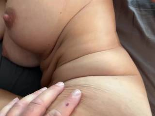 Hope you like fucking on the side and grabbing my big tits?