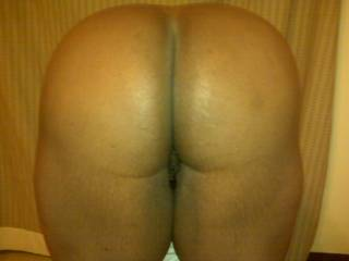 A very beautiful set of cheeks.  Your crevice looks perfect for a cock rest.  Get the camera out!
