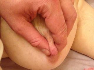 Love to suck on one nipples while I pinch and tug on the other making you're ready to cum...love to hear how hot you sound when you are cumming.