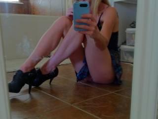 Another naughty school girl!