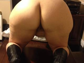 What a GREAT ass :)  Would love to have my eyes on it bouncing as I pounded you from behind...