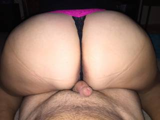 WOW I would be to !! love to lick your precum off her sweet ass