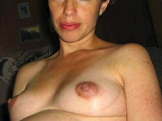 My lovely wife's tits