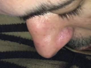 I love when he eats my pussy like this. It feels like heaven. Do you like to go down on a woman?