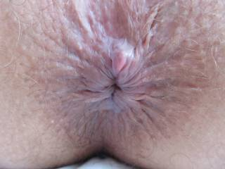 close-up of my wife`s ass, before gaping