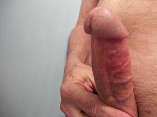 Mushroom head, muscle rings and lots of veins...who wants to play?