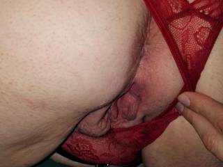 Love the thought of a big cock sliding into me from behind. Do you want to fuck me in the ass or in my wet pussy? Which hole are you going to leave your cum in?