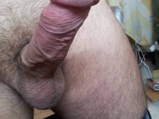big cock head ready to shoot cum