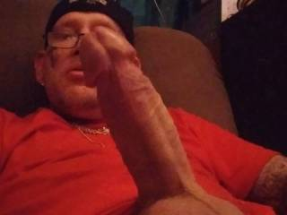 Hard dick ready for action