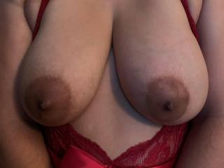 Would you like to suck my big tits?