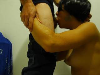A deeply blowjob being disguised. Various views in this video. Hope you like it ;-)