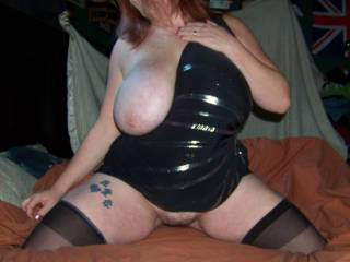me under you as you ride my cock and I play with those big,sexy tits