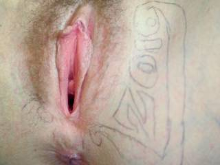 That needs to be licked, sucked, nibbled, and tougue-fucked from your clit to your tailbone.