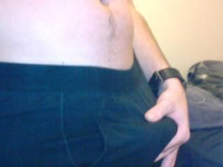 just giving myself a little rub in my tighest pair of boxers, just come out of washer, think they might have shrunk a bit