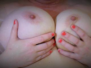 Love to get my hands on your beautiful tits mmm
