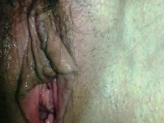 My pussy lips...