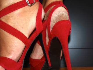 Rough dirty soles..... high heels..... anyone?