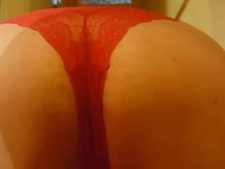 Bent over ready to be fucked!