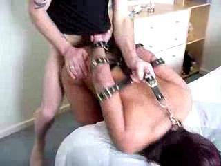 kinky little bitch strapped up & fucked nice & easy, she cant get enough, what do you think ?