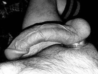Artsy black and white