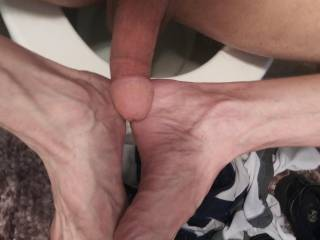 For you feet/cock lovers