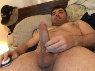 look at the cock on him anyone wanna hope on for a ride
